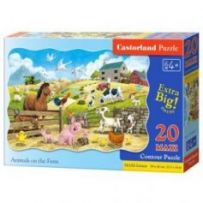 Animals on the Farm Puzzle 20