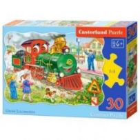 Green Locomotive Puzzle 30