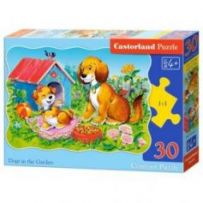 Dogs in the GardenPuzzle 30