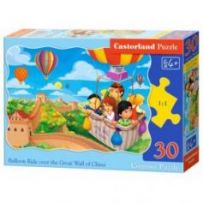 Balloon Ride over the Grat Wall of China Puzzle 30