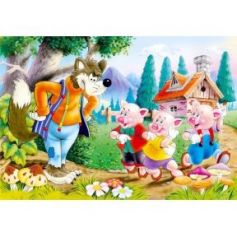 Three Little Pigs Puzzle 60