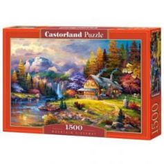MOUNTAIN HIDEAWAY PUZZLE 1500 PIECES