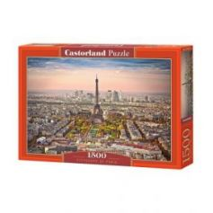 Cityscape of Paris Puzzle 1500