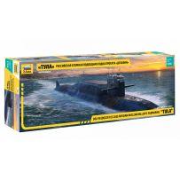 Zvezda 9062 - Sous-marin nucléaire balistique Russe de classe Delfin (Delta IV) (TULA) 1/350