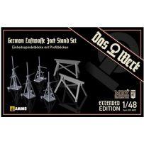 Luftwaffe Jack Stand Set - extended / Doppelpack 1/48