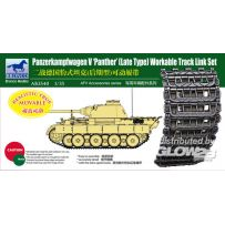 Panther Late Type Workable Track LinkSet 1/35