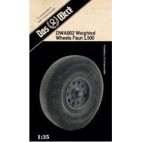 Weighted tires for Faun L900 1/35