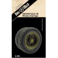 Weighted tires for Sd.Ah.115 1/35