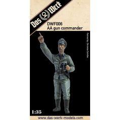 AA gun commander / Flak Kommandant 1/35