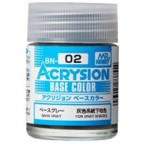 Acrysion Base Color (18 ml) Base Grey