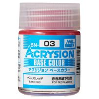 Acrysion Base Color (18 ml) Base Red