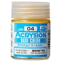 Acrysion Base Color (18 ml) Base Yellow