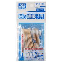 Mr. Cotton Swab Set (Wooden Stick Type)