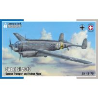 Siebel Si 204D German Transport and Trainer Plane 1/48