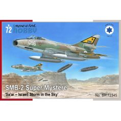 SMB-2 Super Mystère Sa ar – Israeli Storm in the Sky 1/72