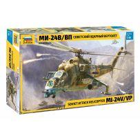 Zvezda 4823 - Hélicoptère d'attaque Soviétique MI-24 1/48