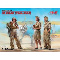 US WASP (1943-1945) (3 figures) 1/32