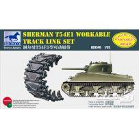 Sherman T54E1 Workable Track Link Set 1/35