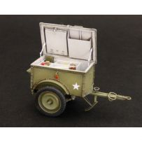 U.S.Telephone trailer K-38 1/35