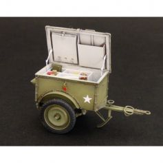 U.S.Telephone trailer K-38 1/35