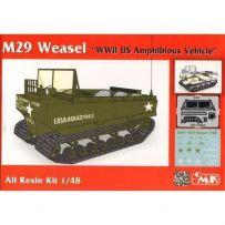 M29 Weasel full resin kit 1/48
