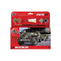 Starter Set Jeep MB 1/72