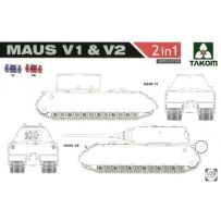 Maus V1 & V2 2 in 1 (Limited Edition) 1/35