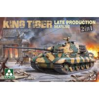 Sd.Kfz.182 King Tiger Late Production 1/35