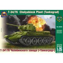 T-34\76 of Chelyabinsk Plant Tankograd 1/35