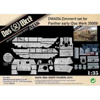 Zimmerit Set für Panther early (DB pattern) 1/35