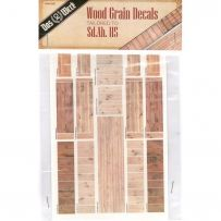 Wood Grain Decals for Sd.Ah.115 1/35