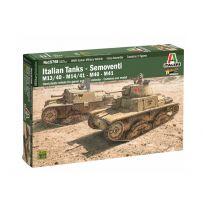 Tank/Canon automoteur Italien 1/56