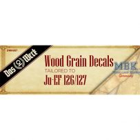 Wood Grain Decals for Ju EF-126/ 127 1/32