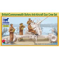 British/Commonwealth Bofors Gun crew set 1/35