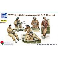 British/Commonwealth AFV Crew set 1/35