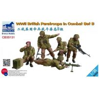WWII British Paratroops Combat Set B 1/35