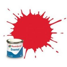 19 Bright Red Gloss - 14ml Enamel Paint