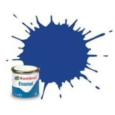25 Blue Matt - 14ml Enamel Paint