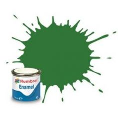 131 Mid Green Satin - 14ml Enamel Paint