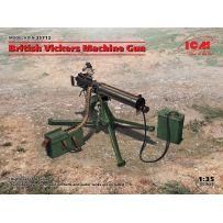 British Vickers Machine Gun 1/35