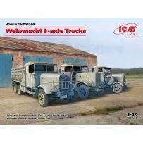 Wehrmacht 3-axle Trucks 1/35