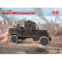 Model T RNAS Armoured Car (100% new molds) 1/35