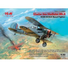 Gloster Sea Gladiator Mk.II WWII British Naval Fighter 1/32