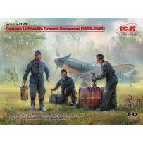 German Luftwaffe Ground Personnel (1939-1945) (3 figures) 1/32