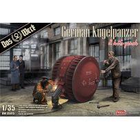 German Kugelpanzer (2 Kits Pack) 1/35