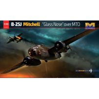 B-25J Mitchell Glass Nose over MTO 1/32