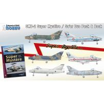 SMB-2 Super Mystere Duo Pack & Book 1/72