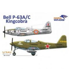 Bell P-63A/C Kingcobra (2 in 1) 1/144