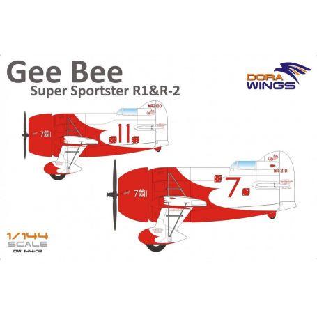 Gee Bee Super Sportster R1&R-2 (2 in 1) 1/144