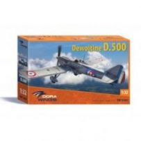Dewoitine D.500 (Cartograf decal) 1/32